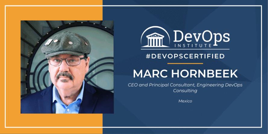 DevOps Institute Certification Spotlight with Marc Hornbeek