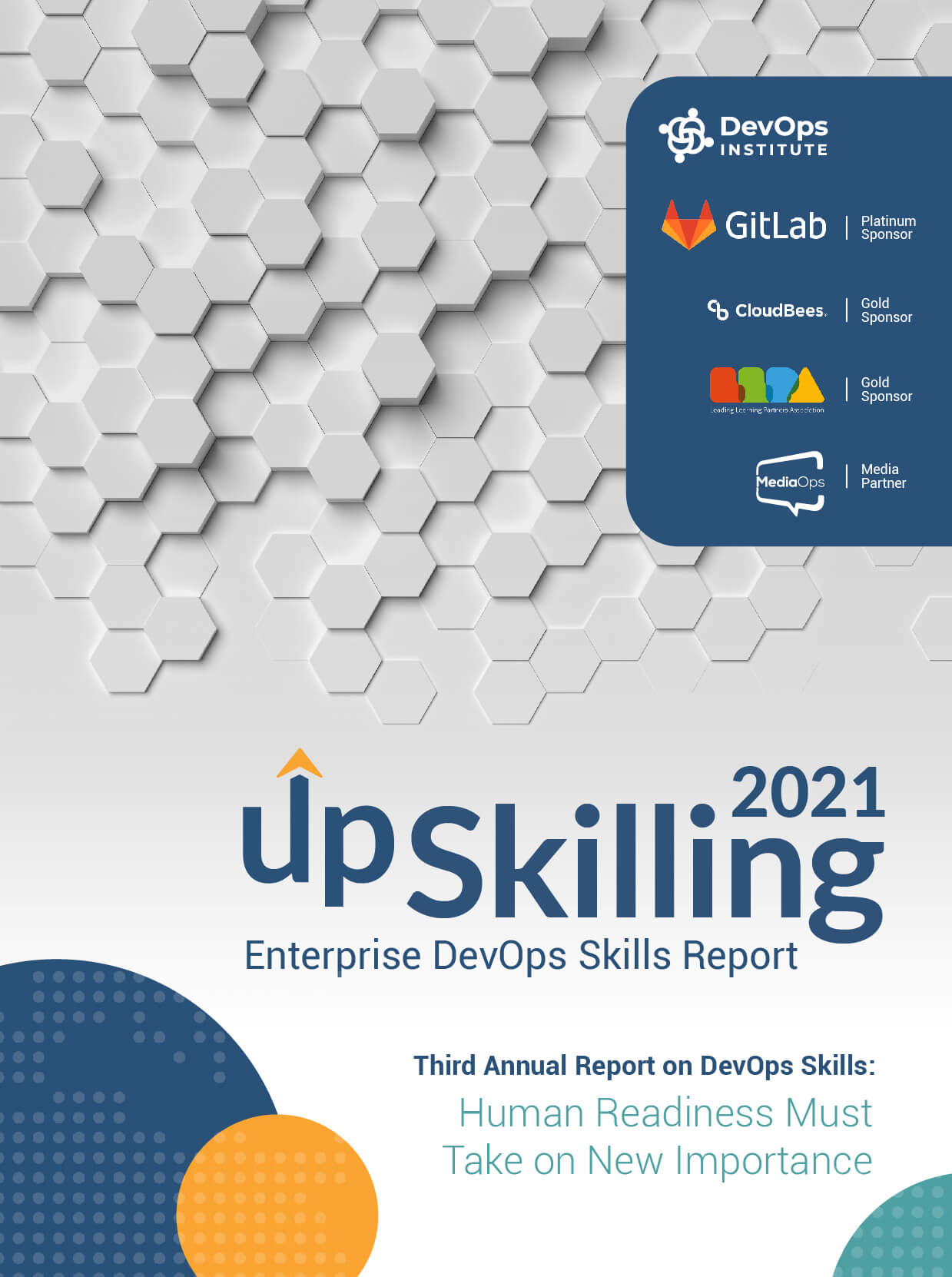 2021 Upskilling Report Cover
