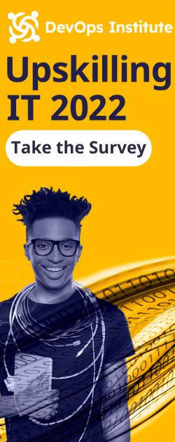 Take the Upskilling IT 2022 Survey Sidebar